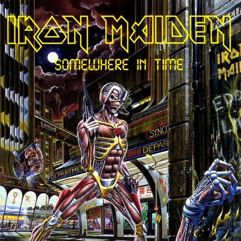 IRON MAIDEN «Somewhere in Time» (1986)