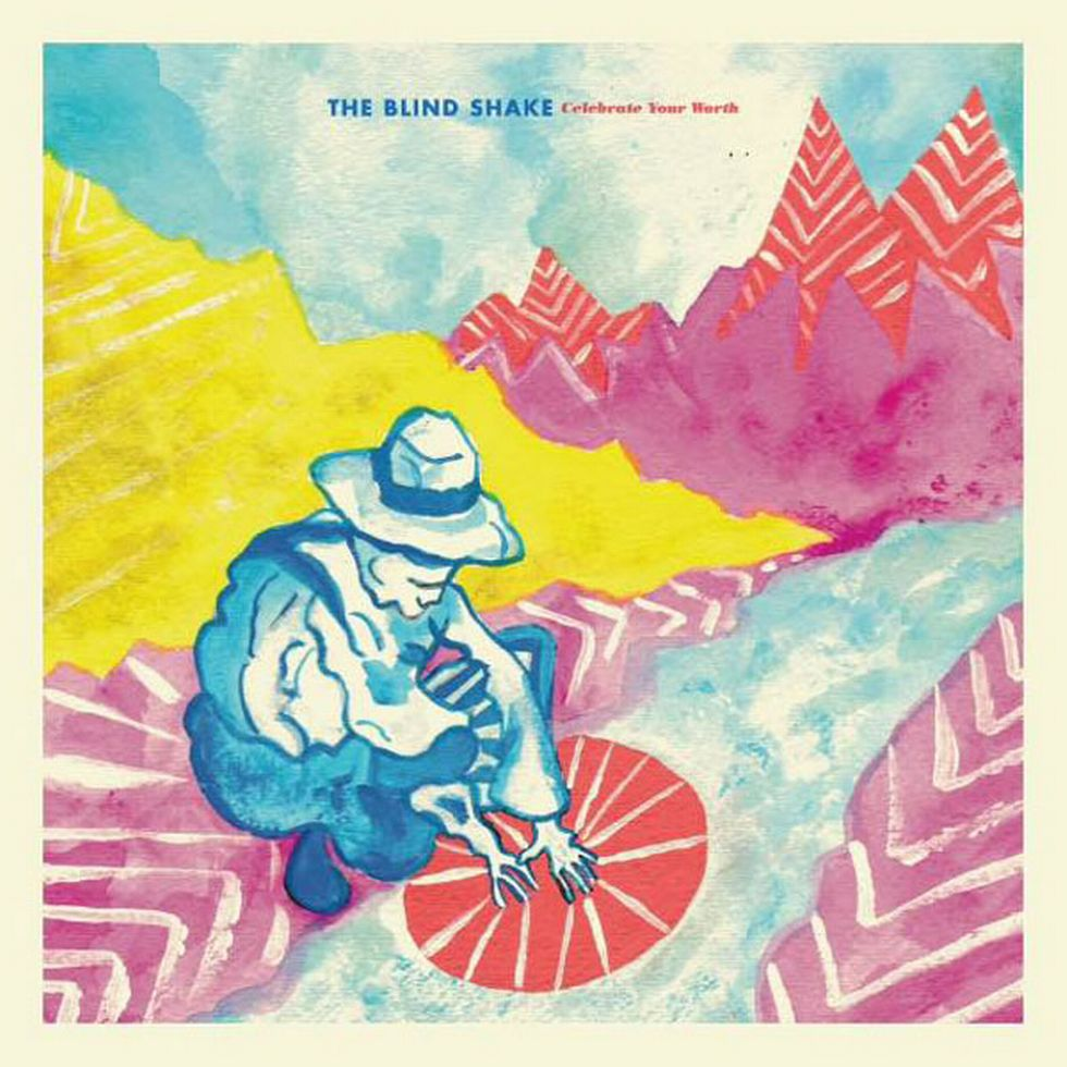 THE BLIND SHAKE «Celebrate Your Worth» (Goner Records)