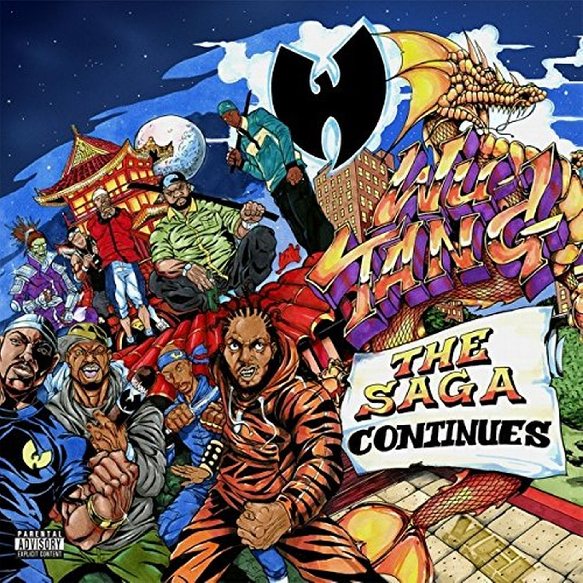 WU-TANG CLAN «The Saga Continues» (Border)