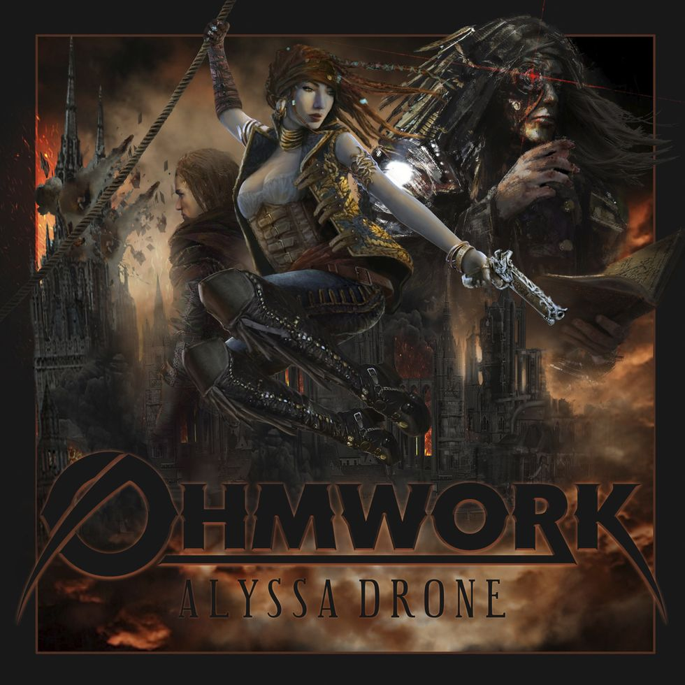 OHMWORK «Alyssa Drone» (Rob Mules Records)