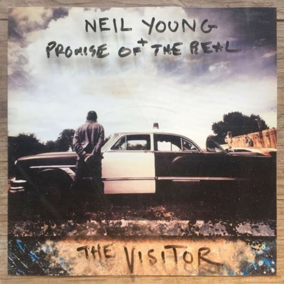 NEIL YOUNG «The Visitor» (Reprise/Warner)