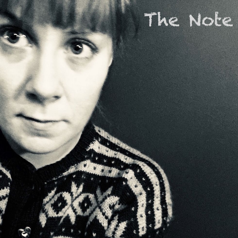 Heidi Solheim «The Note» Albumcover.