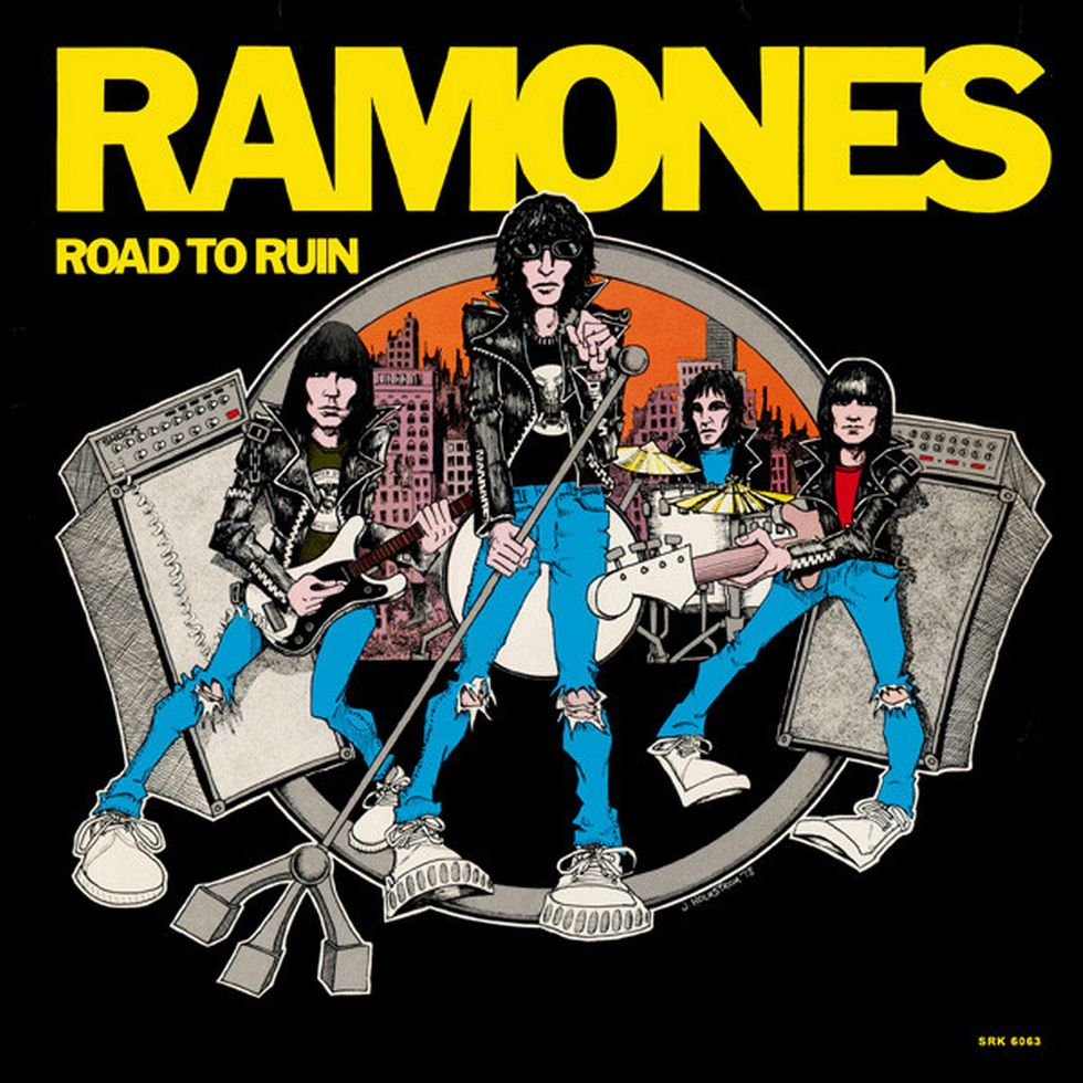 THE RAMONES: «Road To Ruin» (1978)
