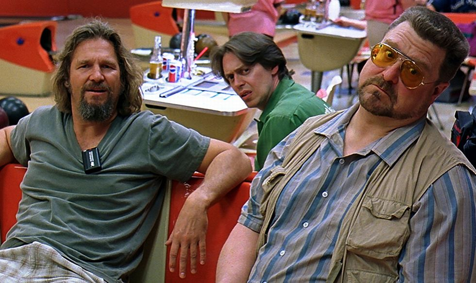 Jeff Bridges, Steve Buscemi og John Goodman i  «The Big Lebowski».                        (Foto: Polygram)