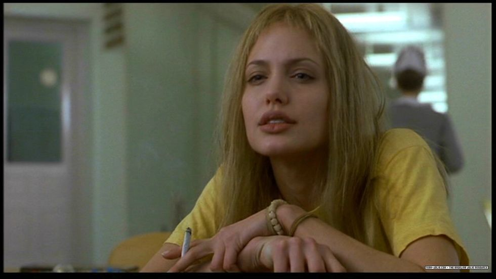 Angelina Jolie i «Girl, Interrupted».                       (Foto: Columbia Pictures)