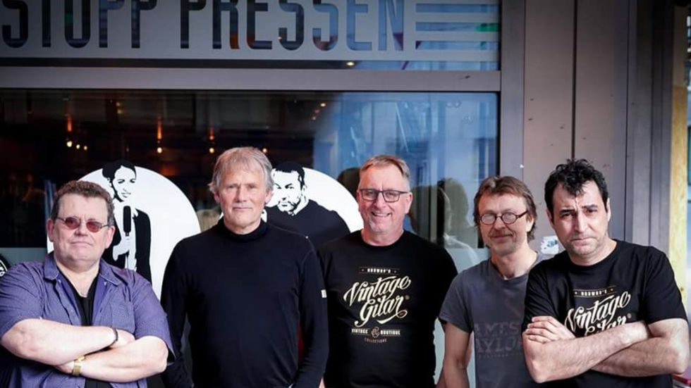 TEKNISK ETAT: Bandet fra Fauske spiller på Prelaten lørdag som en del av deres «A tribute to the giants - tour 2019».                       (Foto: Privat)