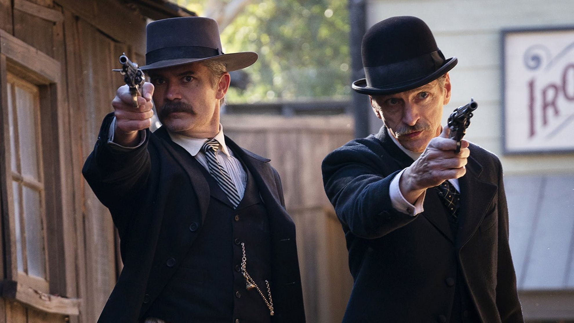 «MEAN STREETS»: Timothy Olyphant i «Deadwood: The Movie». 	Foto: Warrick Page / HBO Nordic