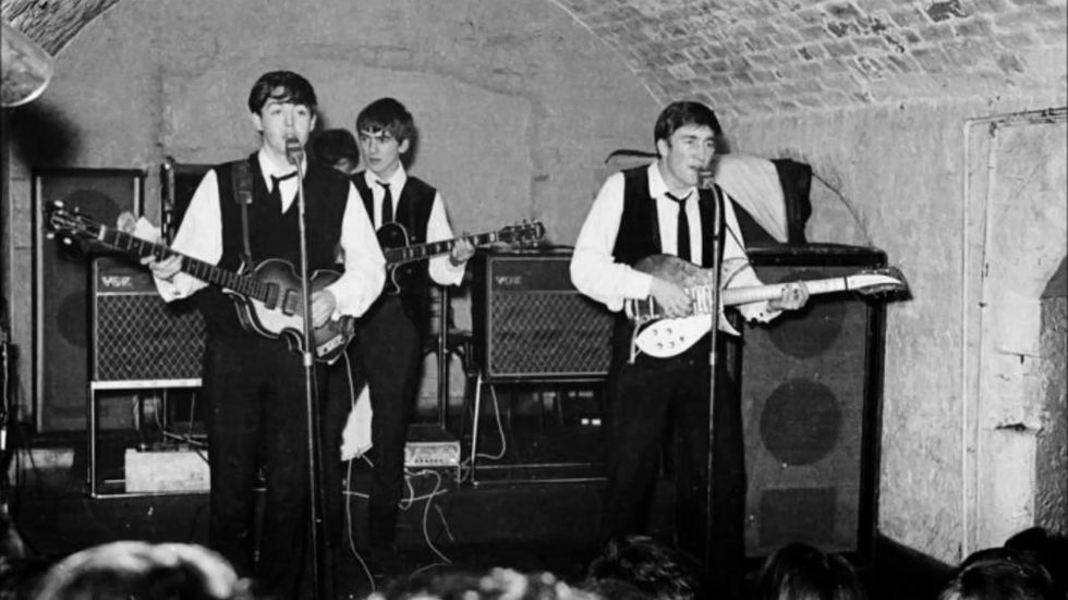 The Beatles, The Cavern Club 1962.