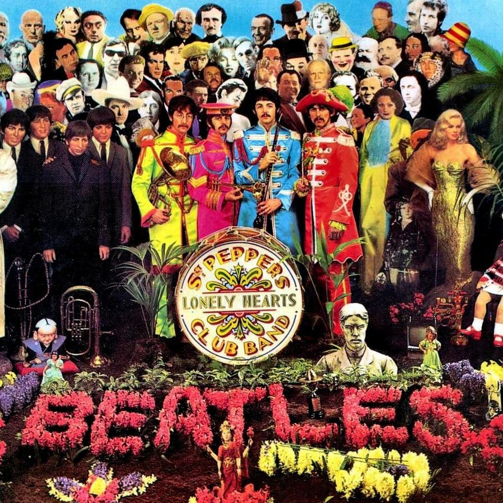 THE BEATLES «Sgt. Pepper's Lonely Hearts Club Band» (1967)