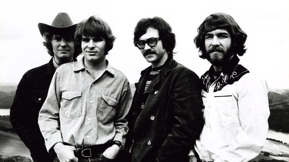«Fortunate Son» av Creedence Clearwater Revival er ukas utvalgte låt.                       (Foto: Jim Marshall)