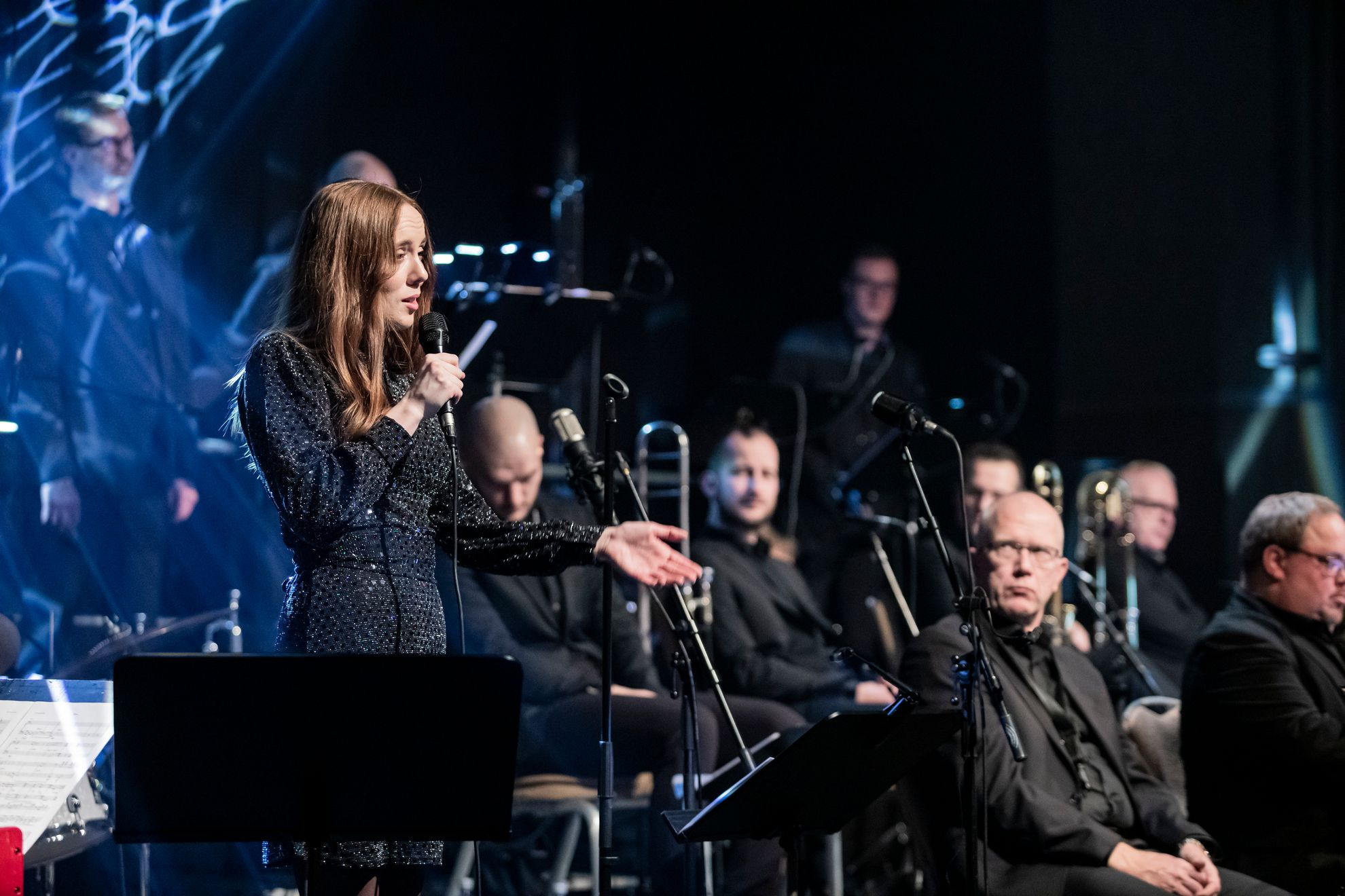 Norrbotten Big Band: Broadway.                        (Foto: Marius Fiskium)