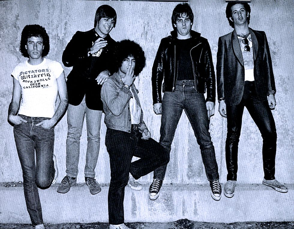 The Dictators, avbildet cirka 1978.