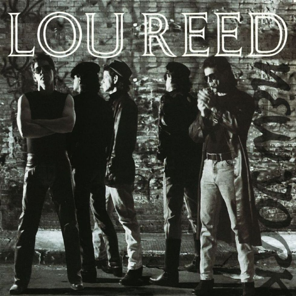 LOU REED «New York» (1988)