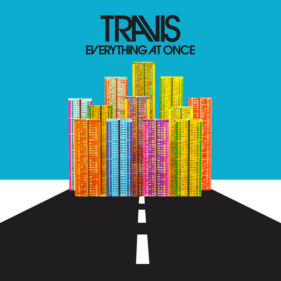 TRAVIS «Everything at Once»: Albumcover.