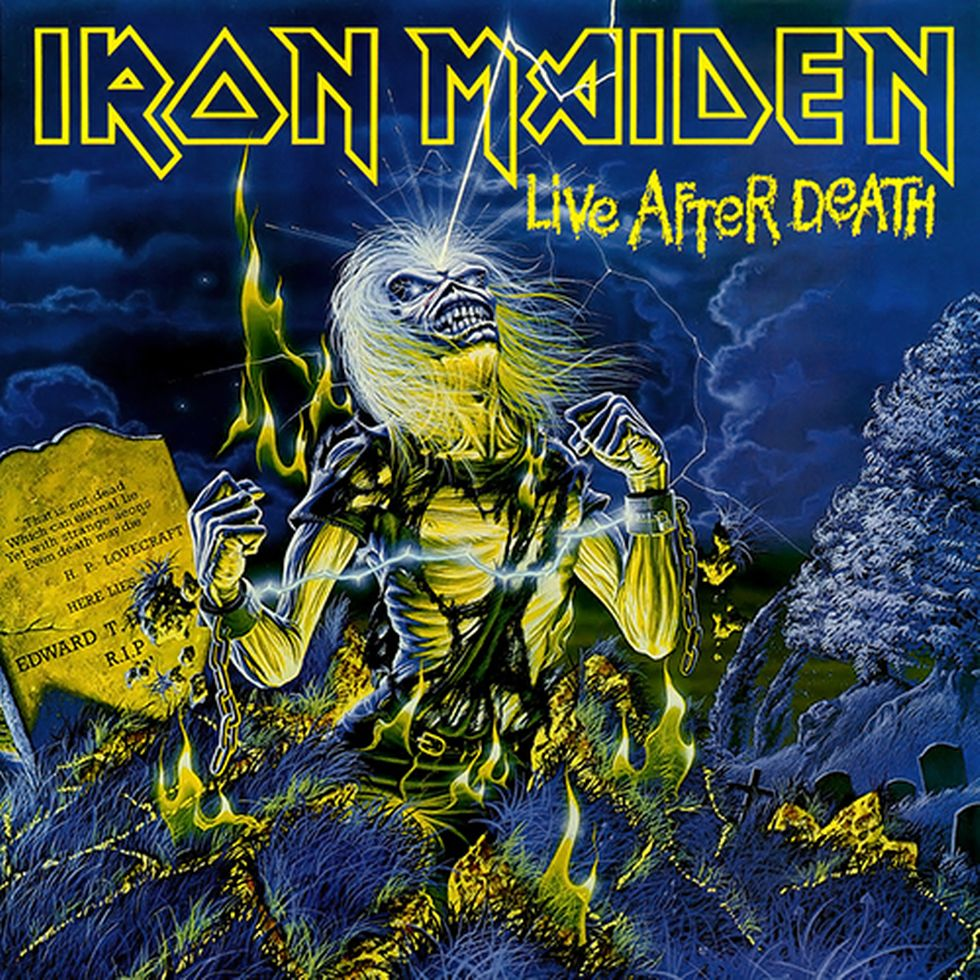 IRON MAIDEN «Live After Death» (1985)