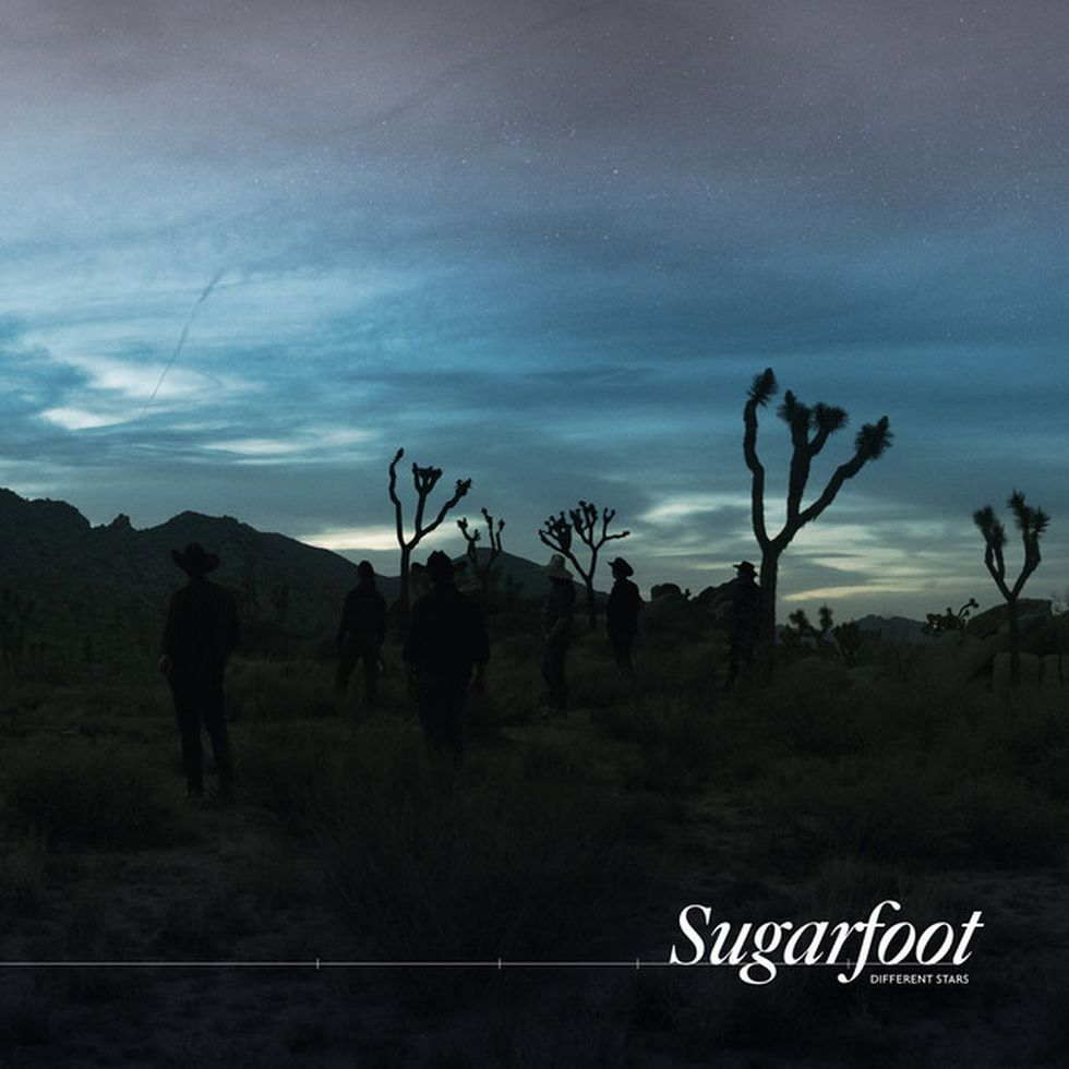 SUGARFOOT «Different Stars»: Albumcover.