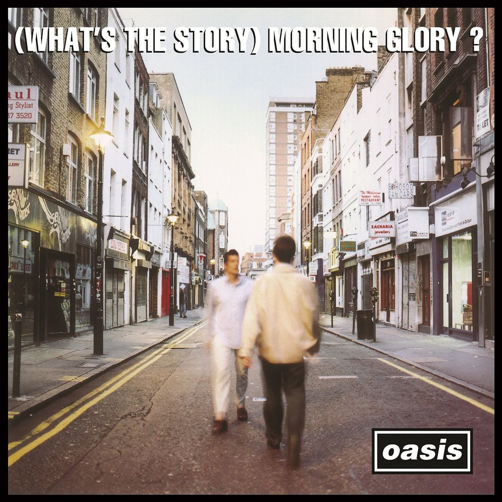 OASIS «(What's the Story) Morning Glory?» (1995)
